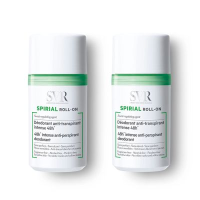 SVR Spirial Desodorante Roll On Antitranspirante 2x50ml