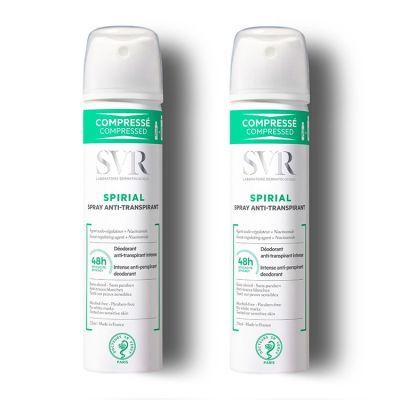 SVR Spirial Duo Spray Antitranspirante 2x75ml