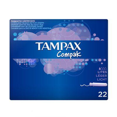 Tampax Compak Lites 22und