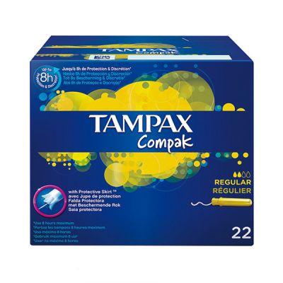 Tampax Compak Regular 22und