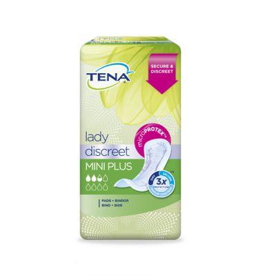Tena Lady Discreet Mini Plus 16und