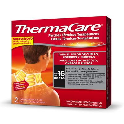 ThermaCare 4 Parches Lumbar y Cadera