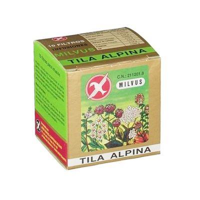 Milvus Tila Alpina Infusión 10 filtros