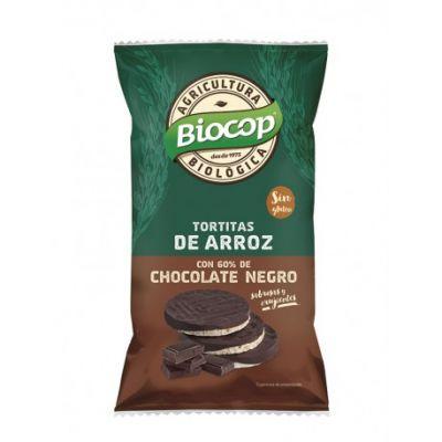 Biocop Tortitas de Arroz con Chocolate  Negro 100gr