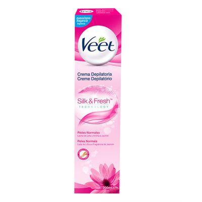 Veet Crema Depilatoria Silk and Fresh 200ml