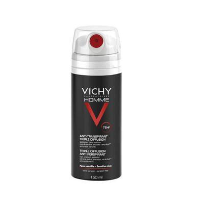 Vichy Homme Desodorante spray Antitranspirante 72 horas