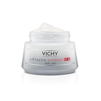 Vichy Liftactiv Supreme Spf 30 50ml + Protocolo Reafirmante y Antiarrigas de REGALO