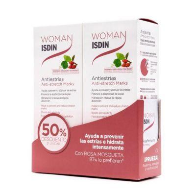 Isdin Woman Antiestrias Duplo 250+250 50% descuento 2ªund