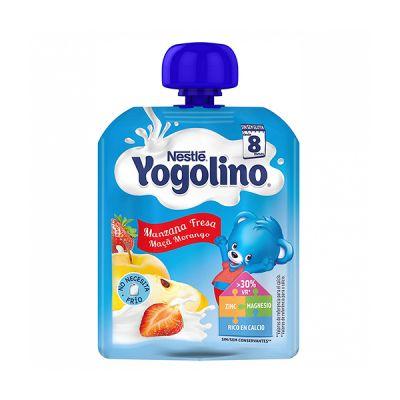 Nestle Yogolino Bolsita Manzana y Fresa 90g